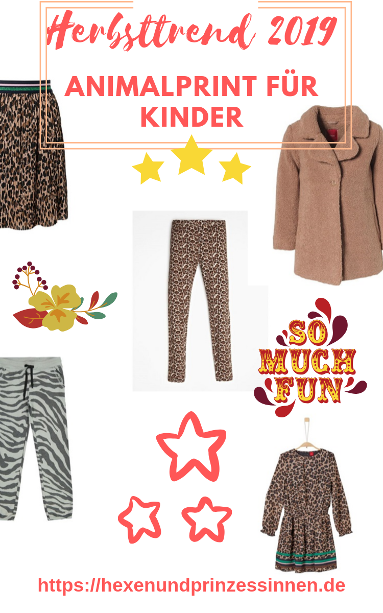 Animalprint für Kinder