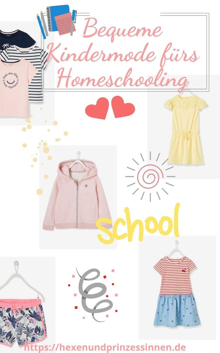 Kindermode fürs Homeschooling