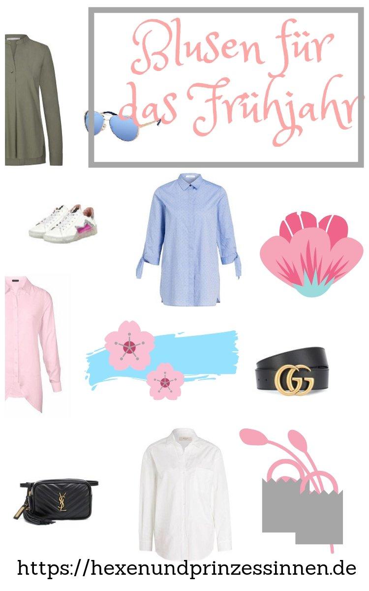 Blusen für das Frühjahr