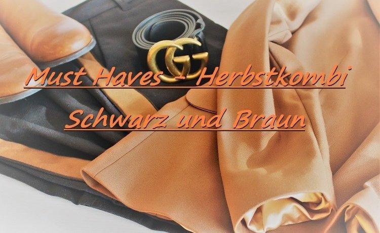 Schwarz und Braun