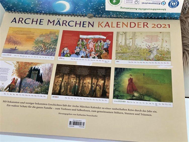 Arche Märchen Kalender 2021