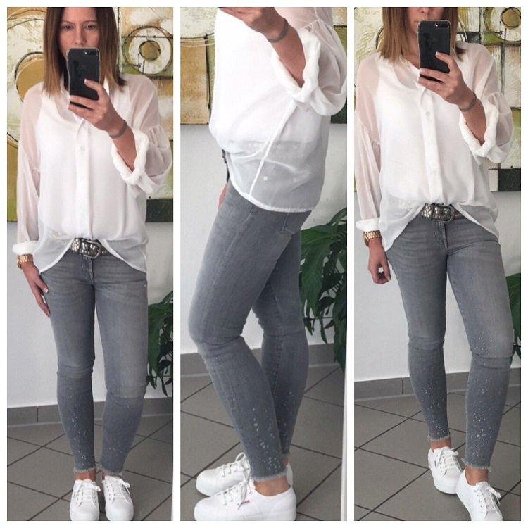 Outfit Outfit Sneaker Weiße Weiße Outfit Sneaker Weiße OiXZuPk