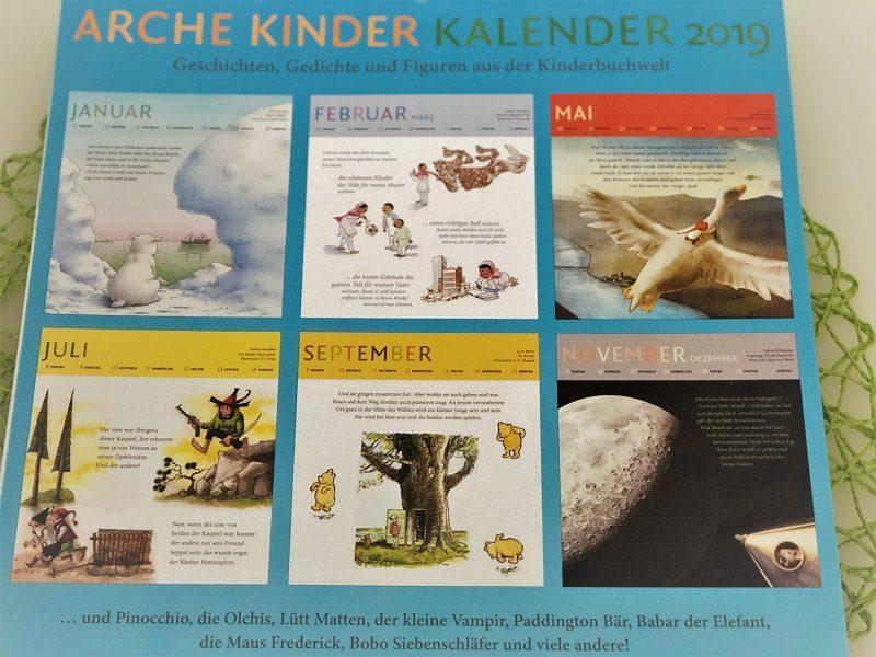 Arche Kinde Kalender 2019