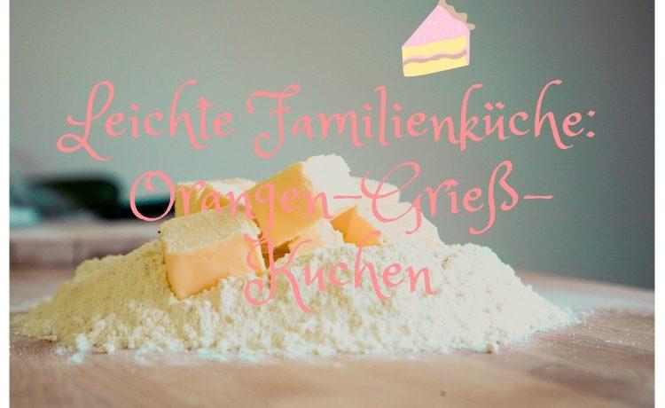 Orangen-Grieß-Kuchen