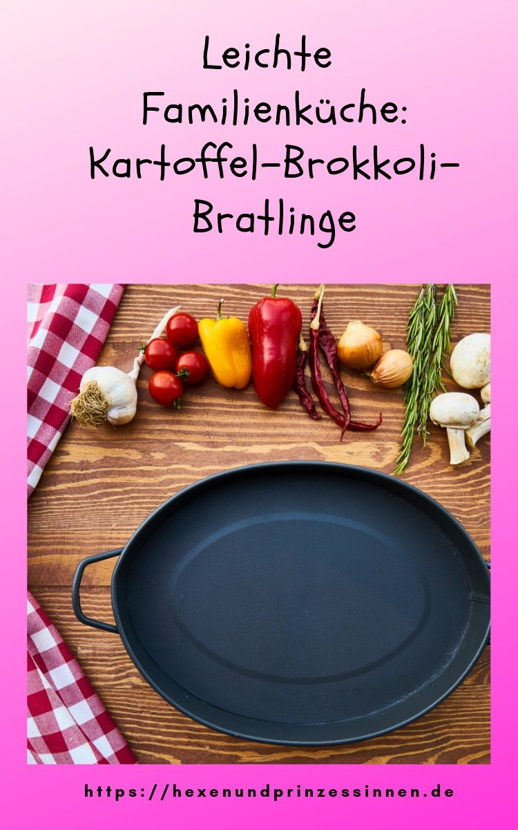 Kartoffel-Brokkoli-Bratlinge
