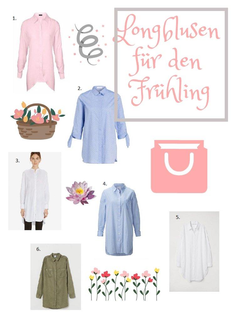 Blusen für den Frühling