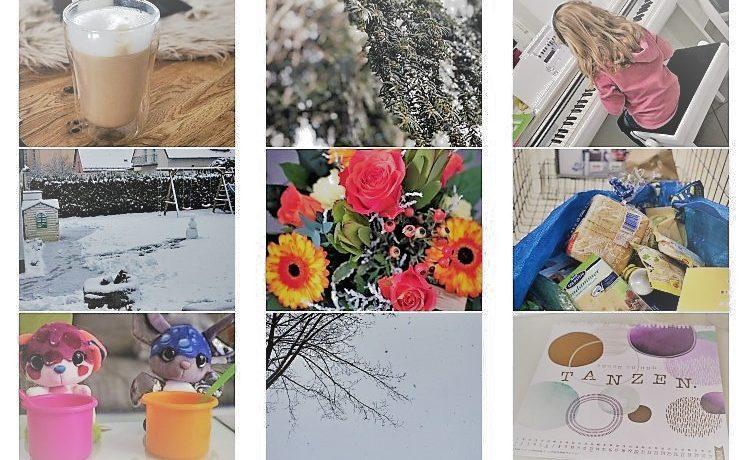 Schnee und Regen