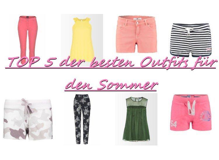 besten Outfits für den Sommer
