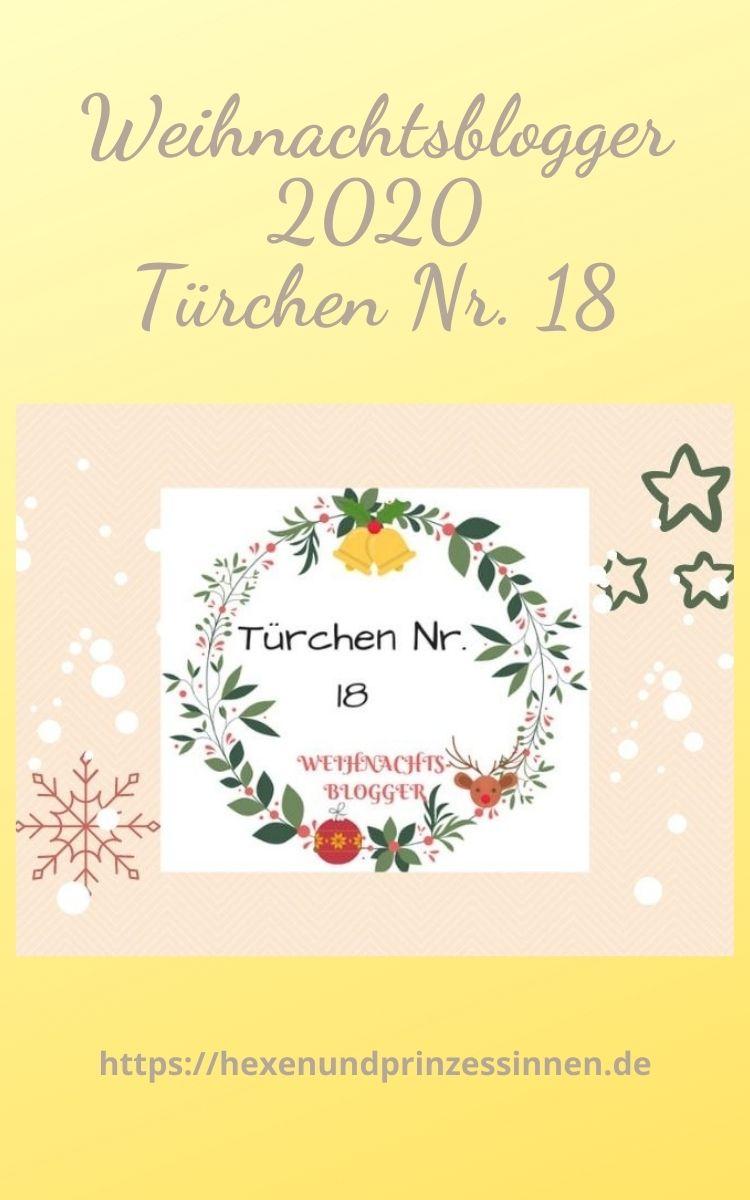 Weihnachtsblogger 2020 - Türchen 18