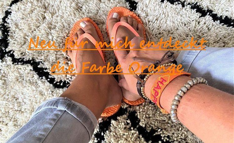 die Farbe Orange