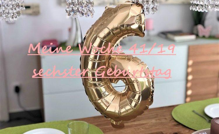 sechster Geburtstag