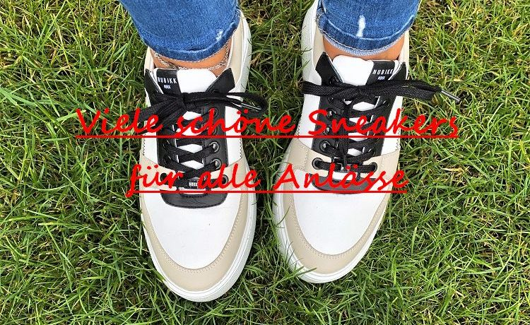 viele schöne Sneakers