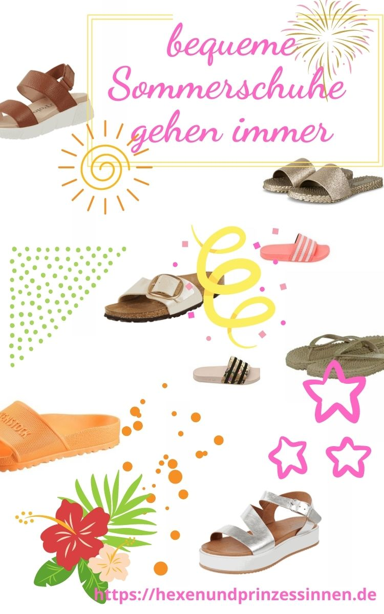 bequeme Sommerschuhe